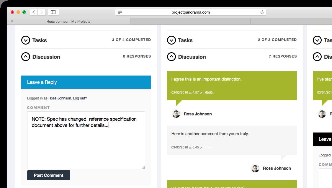 WordPress Project Communication